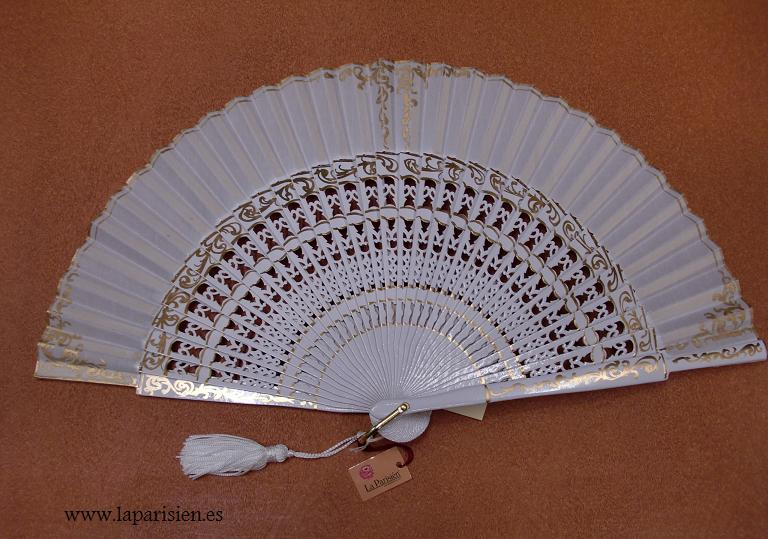 Spanish bridal fan