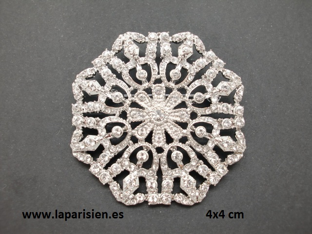 Mantilla pins ornaments.