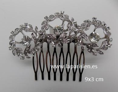 cebf445c12a0 Peinetas novia - bisuteria   La parisien